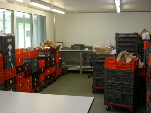 Picture of the drying room
