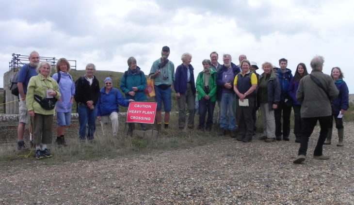 Picture of botanists at Shoreham