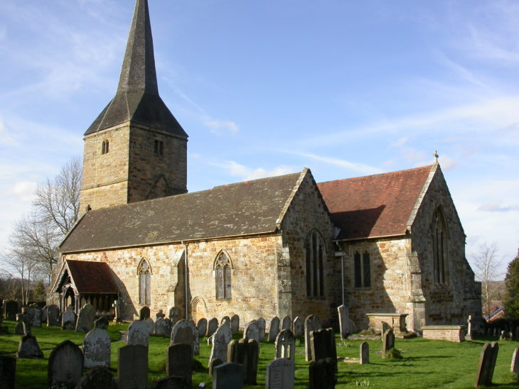 Picture of Hartfield church